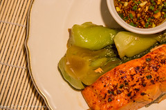 Coho Salmon with Bok Choy