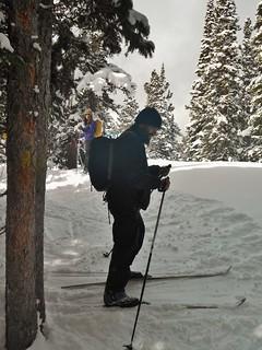 Robert Sidestepping Uphill