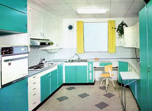 turquoise kitchen 2