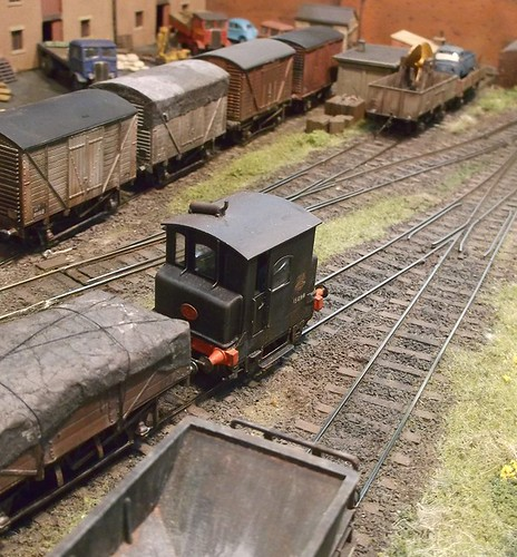 Titch and tarpaulin wagons