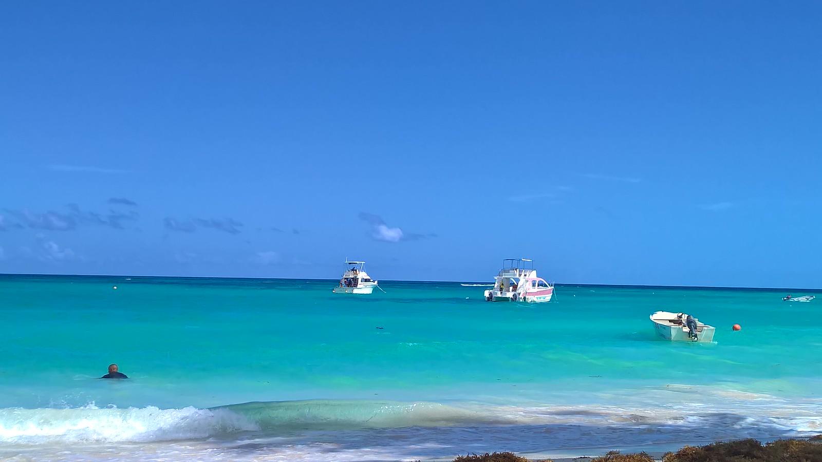 Карибское море в конце января