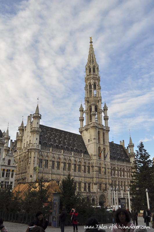 BRUXELLES - Grand-Place - Hôtel de ville de Bruxelles