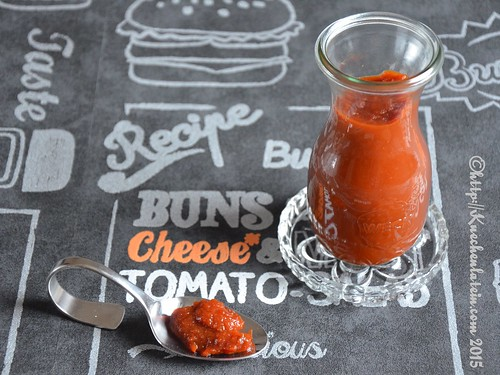 Tomatenketchup aus dem Slow Cooker