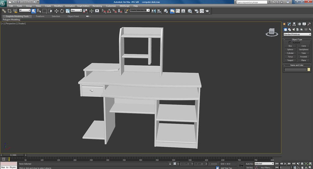 Computer Desk Work In Progress Screenshots