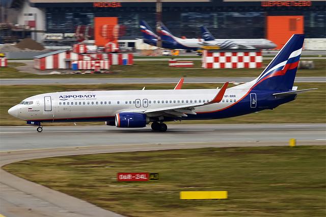 Aeroflot, VP-BRR, Boeing 737-8LJ