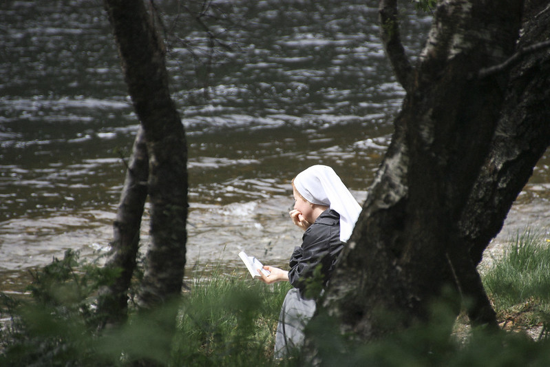 nun in glendalough