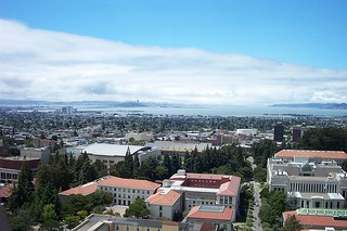 berkeley campanile west view