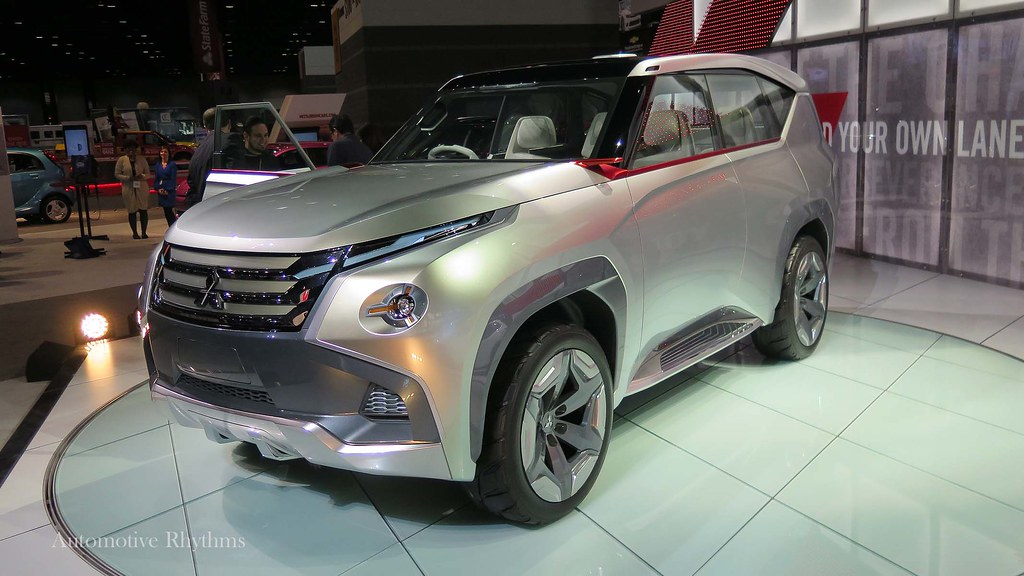 Mitsubishi Concept GC-PHEV Shown at the 2015 Chicago Auto Show