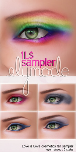 Love is Love Cosmetics Fair 1L$ sampler