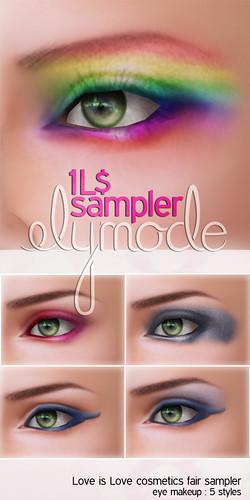 Love is Love Cosmetics Fair 1L$ sampler