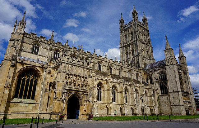 Gloucester Cathedral exterior