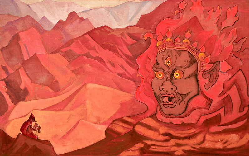 Nicholas Roerich - Dorje the Daring One, 1925