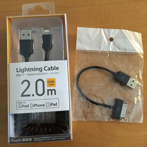 iPod and iPhone cable