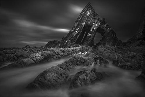 blackchurch rock_1B&W