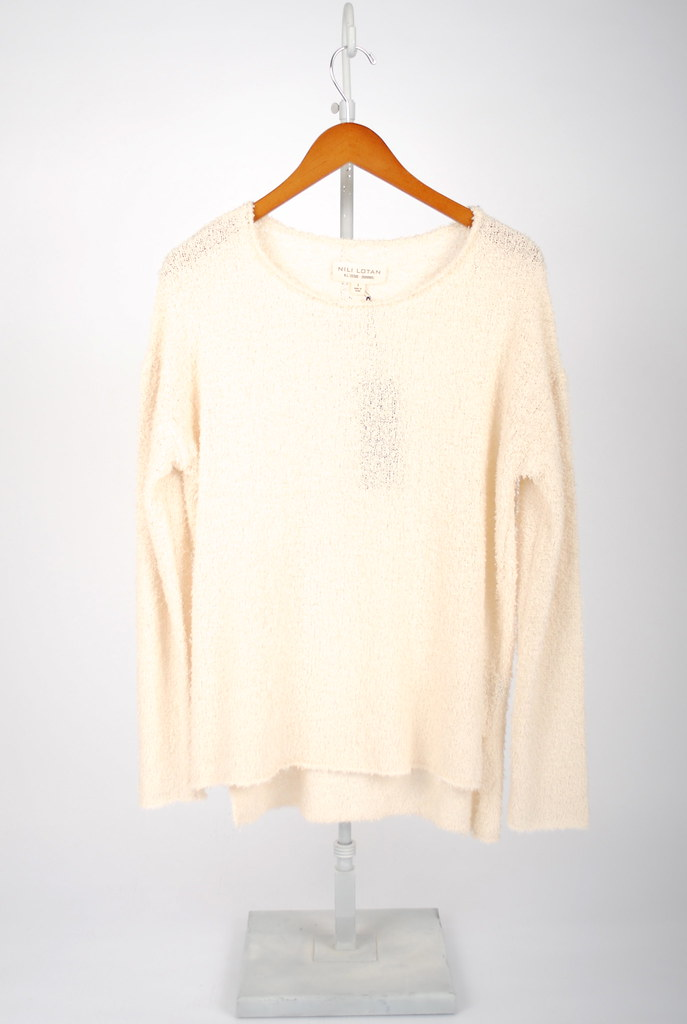 Ballet Neck Boyfriend Sweater
