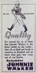 Publicité pour le whisky Johnnie Walker. 1936. P98-01_083 18
