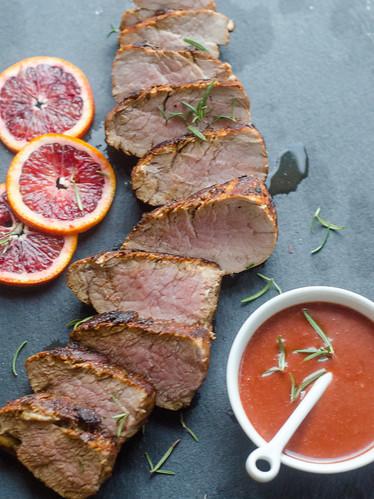 Blood Orange-Rosemary Pork Tenderloin