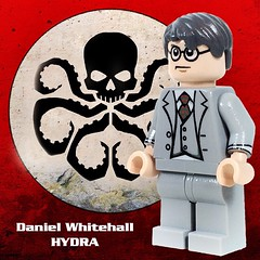 "Fine Clonier has added a photo to the pool:Custom Minifigure by Jared K. BurksCharacter Portrayed by Reed Diamond on Marvel's Agent of SHIELDCostume Design by Ann FoleyDaniel Whitehall is definitely not a nice guy.  Just checkout what Marvel Wiki has to say about him:""Freedom. Equality. Individual rights. These principles make mankind a plague on this planet. Think of a forest. It dries up and catches fire with the first spark. Now, mankind would fight that fire, believing every individual plant perfect in its own individual way. But it's the fire that's perfect.""―Daniel WhitehallWerner Reinhardt, later known as Daniel Whitehall, was one of the most prominent members of HYDRA. Originally a high ranking officer of the Nazi Schutzstaffel, during World War II he led expeditions to recover mysterious artifacts for HYDRA. Despite his capture by the Strategic Scientific Reserve in 1945, he was freed in 1989 by members of HYDRA within S.H.I.E.L.D. Back in his old base he used organs and DNA from a mysterious woman to de-age himself and have a middle-aged appearance into the 21st century. With the new identity he reclaimed his position in HYDRA and started the quest to recover the object of his lifelong obsession, the mysterious Obelisk."