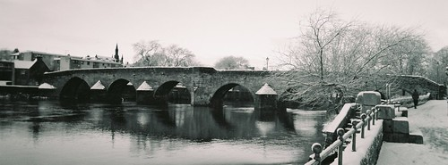 Devorgilla Bridge in Snow I