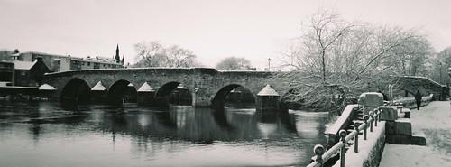 Devorgilla Bridge in Snow I