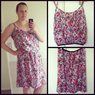 Having a baby this year plus Breastfeeding leaves me with very little options as far as clothes go. When I realised the other day I had nothing but shorts and tee shirts to wear to my mums 60th birthday lunch I was left feeling fat, old and unfashionable.