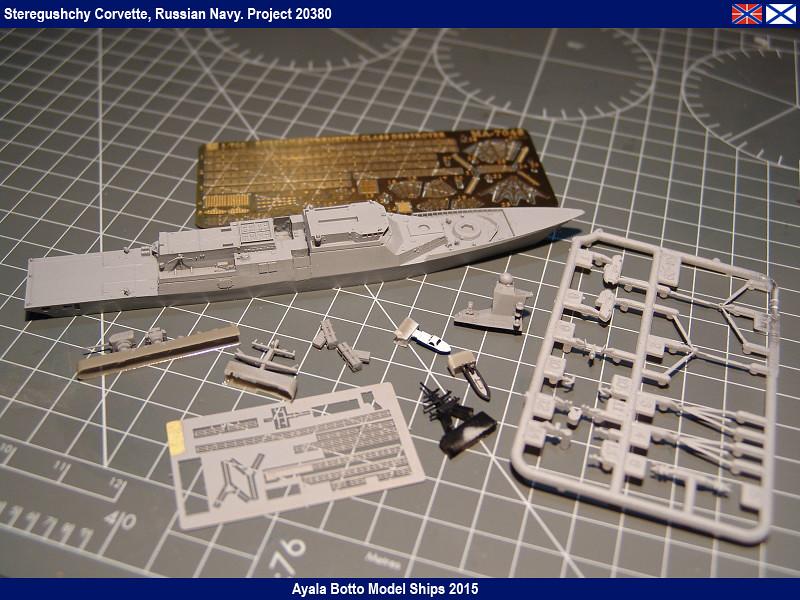 Corvette Russe Steregushchy 530, Project 20380 - Gwylan Models / Combrig 1/700 16598483866_11af490327_b