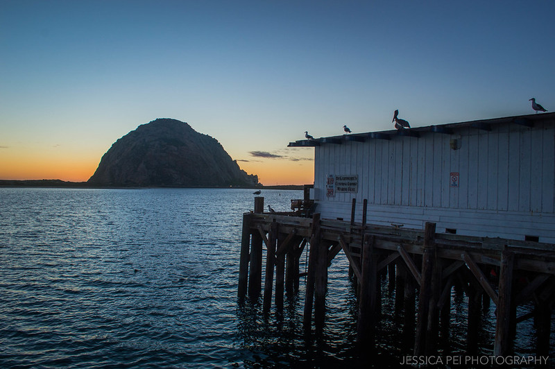 Sunset Morro Bay California
