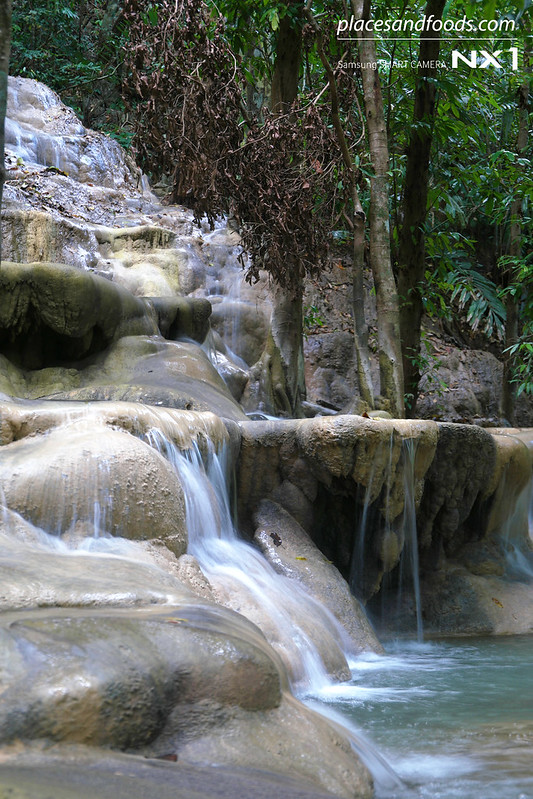 namtok wang sai thong waterfall cascade