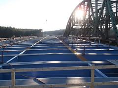 Steel for New Northbound Arch Floor