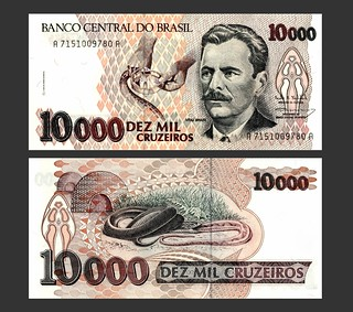 Brasil 10000 Cruzeiros - 1990