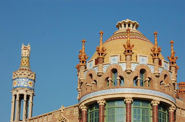 西班牙 巴塞隆納 聖十字聖保羅醫院 Hospital de la Santa Creu i Sant Pau Barcelona Spain