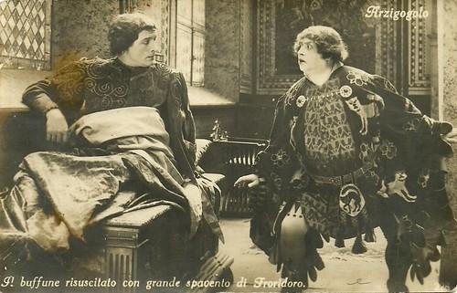 Annibale Betrone and Oreste Bilancia in L'arzigogolo