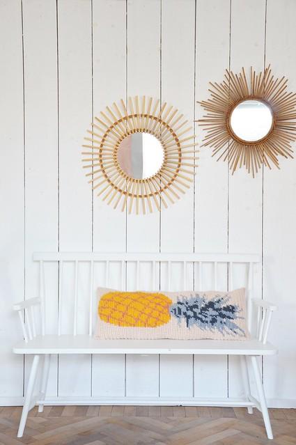pineapple pillow pattern
