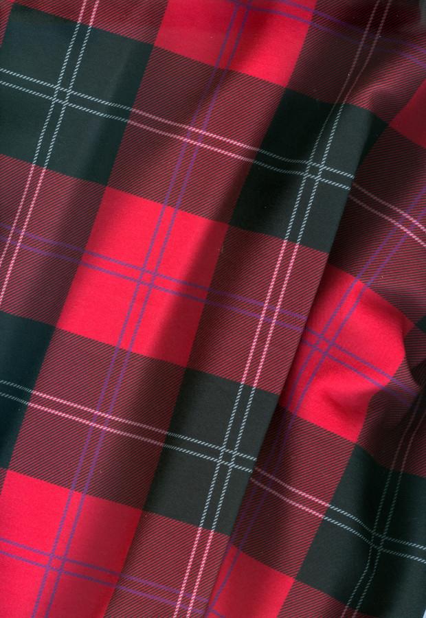 Ramsay Tartan In Red Fabric Elramsay Spoonflower