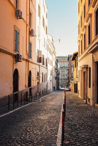 sunset italy rome roma finepix fujifilm goldenhour lazio kodakgold100 fav10 latium fav25 mirrorless streeetphotography vsco viafrancescocrispi vscofilm fujix100s x100s fujifilmx100s walk:rome=feb272015