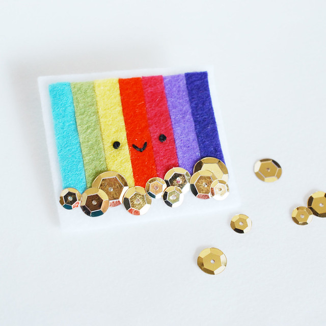 Gold at the End of the Rainbow Pin