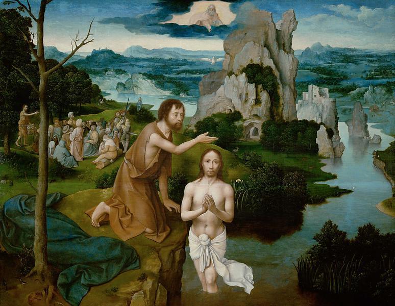 Joachim Patinir Taufe Jesu Baptism Of Jesus Joachim Pat