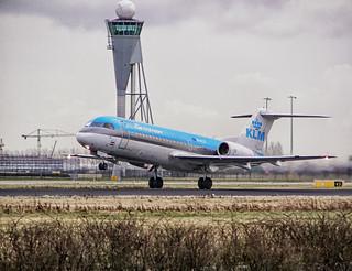 KLM Fokker 70 PH-KZF, Amsterdam Schiphol, 2008-01-30