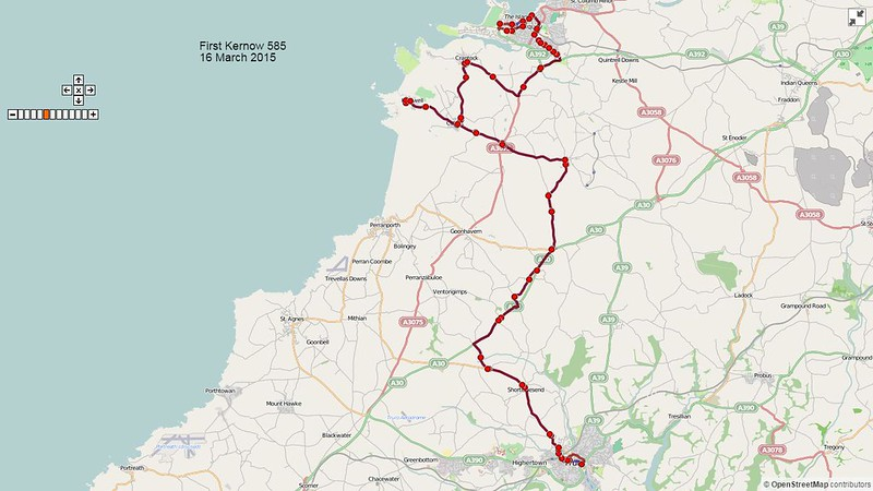 First Kernow Route-585 Map-16March2015