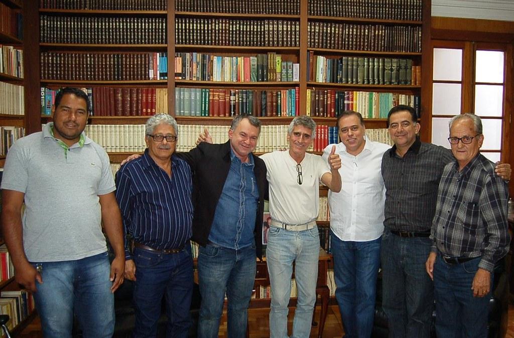 22 07 2016 - Bom Jesus Do Galho - Marcelão, Zé Raimundo, Joel Tristão, Dr.Darci, Paulo Abi-Ackel, Prefeito Jadir e Lelê