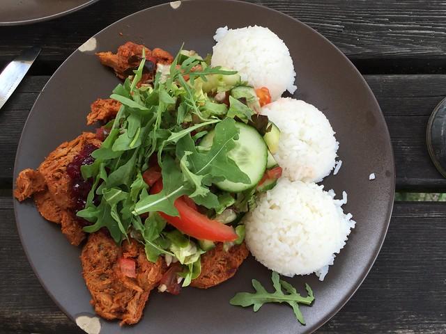 BBQ Seitan at Laibon