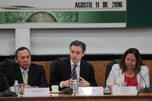 El día 11 de agosto del 2016 se llevó a cabo en la H. Cámara de Diputados la Reunión informativa con el Secretario de Educación Pública sobre el Programa del Modelo Educativo.