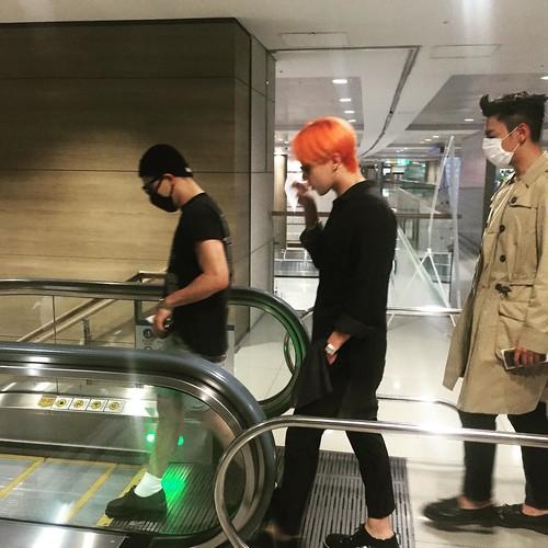 cho_dubu IG arrival ICN Seoul