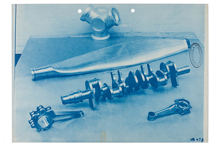 Cyanotype - Machinery, ca. 1950