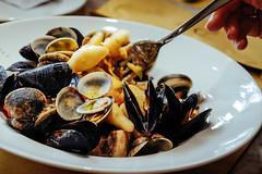 Torino: sea food gnocchi @Eataly