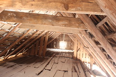 daylighting, attic, wood, room, ceiling, beam, wood flooring, lumber, hardwood,