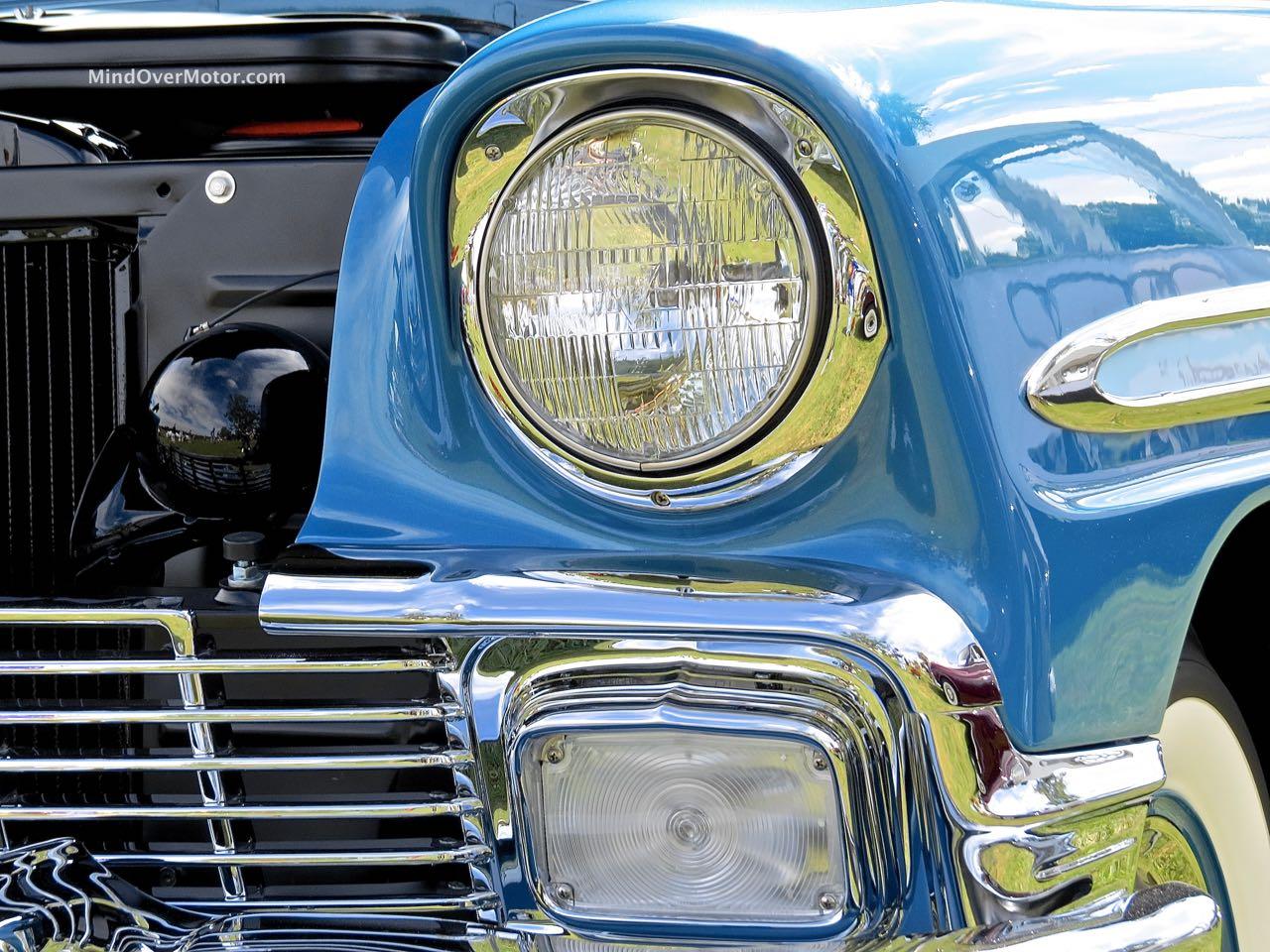 1956 Chevrolet Bel Air Convertible Headlight