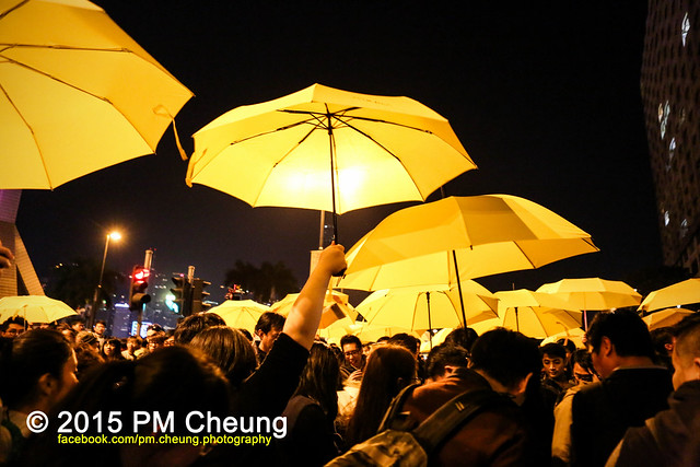 Protest Hong Kong Umbrella Movement - New Year's Eve - 01.01.2015 - Hong Kong - IMG_7674