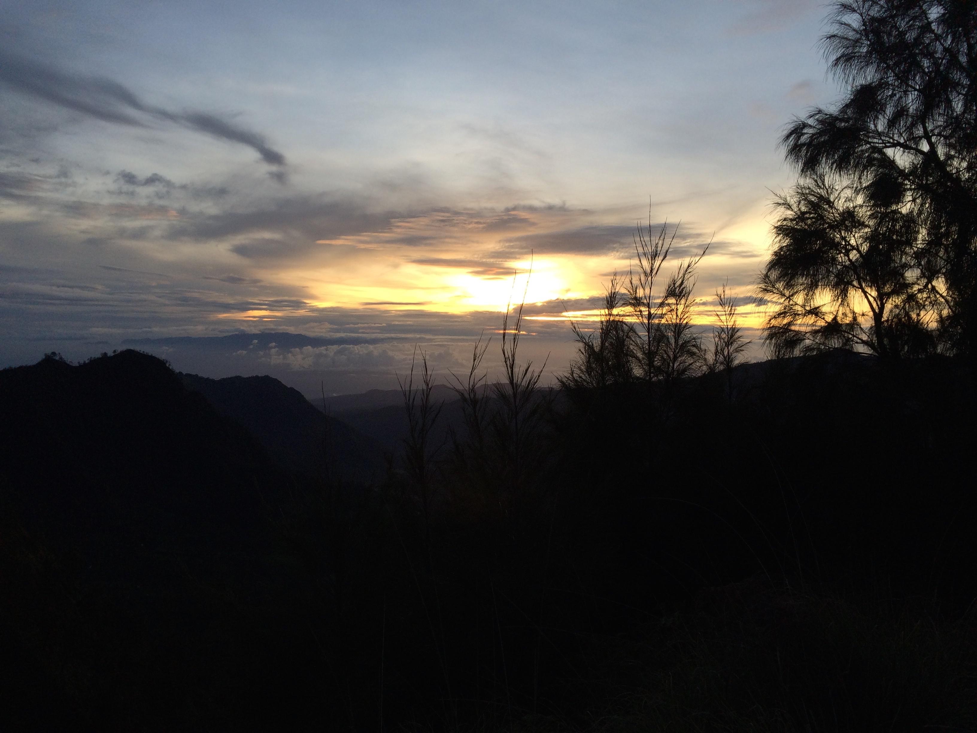 Sunrise at Bromo