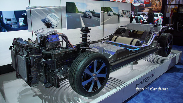 Toyota FCV (fuel cell vehicle) concept